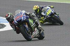 MotoGP - Rossi auf WM-Kurs: Lorenzo braucht Schützenhilfe
