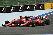 Formel 1 - Let Sebastian pass for the championship: R�ikk�nen will Vettel helfen: Teamorder ist ok