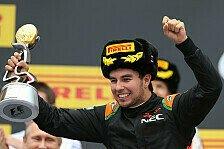 Formel 1 - Force India: McLaren kam für Perez zu früh