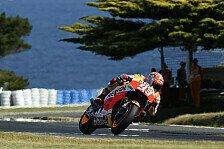 MotoGP - Marquez rechnet auf Phillip Island mit Lorenzo