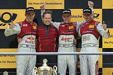 DTM - Audi: Die Stimmen zum Wochenende