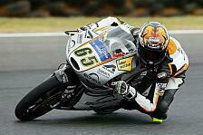 Moto3 - Zweites Training geht an Vazquez