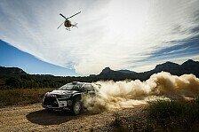M-Sport Östberg und Camilli mit verschiedenen Stärken bei der Rallye Spanien