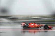 Formel 1 - Regenreifentest: Die Testvorschau