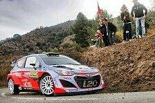 WRC - Wales: Hyundai kämpft um den Hersteller-Vizetitel