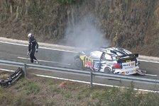 WRC - Ogier nach Spanien-Unfall unverletzt
