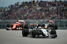 Formel 1 - Force India-Chef Mallya: Checo hat einen Lauf