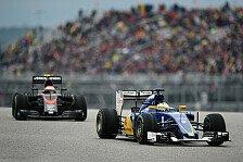 Formel 1 - Sauber ab 2017 mit Honda-Motoren?