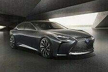 Auto - Lexus LF-FC Concept Car auf der Tokyo Motor Show