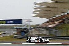 WEC - Notizen aus China: Audi und Porsche voran