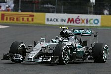 Formel 1 - Rutschpartie in Mexiko: 2. Training: Bestzeit f�r Rosberg
