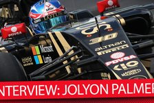 Formel 1 - Video: MSM TV - F1: Lotus-Pilot Jolyon Palmer Interview