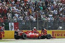 Formel 1 - Rückblick: Die letzten Ferrari-Doppelausfälle