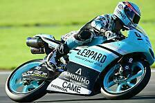 Moto3 - Kent zittert sich zum Titel