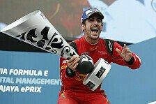 Formel E - Di Grassi gewinnt wilden Putrajaya ePrix