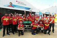 Formel E - Putrajaya: Team Abt feiert Sieg und Gesamtführung