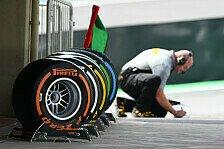 Formel 1 - Pirelli zieht positives Fazit nach Dauertest