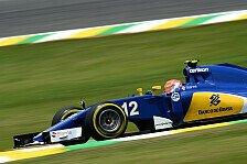 Formel 1 - Nasr: Als Wiedergutmachung nach Strafe punkten