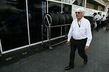 Formel 1 - Nach Ecclestone-Schelte: So reagiert die Formel 1