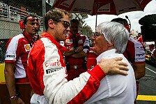 Formel 1 - Nach Aufstand: Ecclestone gibt Fahrern recht