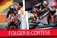 Moto2 - Video: MSM TV: Sandro Cortese & Jonas Folger im Interview