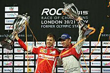 Motorsport - Vettel gewinnt Race of Champions