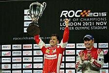 Mehr Motorsport - Video: Podium-Party beim Race of Champions
