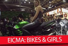 Bikes - Video: MSM TV: EICMA 2015 - Bikes & Girls