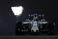 Formel 1 - Williams enttäuscht im Qualifying