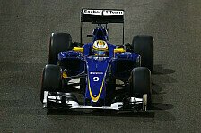 Formel 1 - Sauber kommt nicht zurecht