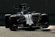 Formel 1 - Kopfzerbrechen bei Williams: Langsamer als 2014