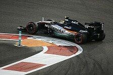 Formel 1 - Perez: Startreihe zwei in Abu Dhabi