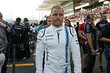 Formel 1 - Bottas zieht Resümee: Nicht zufrieden mit 2015
