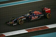 Formel 1 - Toro Rosso stärkt Sainz den Rücken