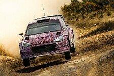 WRC - Bilder: Testfahrten Hyundai i20 WRC der neuen Generation