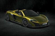 Auto - McLaren Automotive kündigt neuen 675LT Spider an