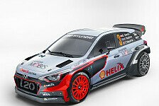 WRC - Wechselndes Fahreraufgebot bei Hyundai in 2016