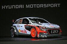 WRC - Video: Hyundai präsentiert den neuen i20 WRC