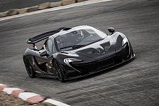 Auto - Letztes Exemplar des McLaren P1 fertiggestellt