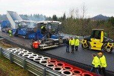 Motorsport - Asphaltband der Nordschleife wieder komplett