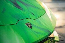 Auto - Lamborghini Huracán im spektakulären Tricolore-Look