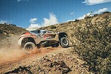 Dakar Rallye - Peterhansel gewinnt Peugeot-Dreikampf