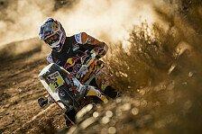 Dakar Rallye - Doppelsieg für KTM, Honda endgültig aus dem Rennen