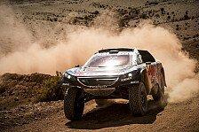 Dakar Rallye - Abbruchsieg für Sainz, wieder Probleme für Loeb
