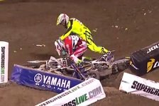 Bikes - Video: Schlägerei nach Kollision bei US-Supercross