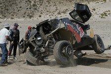 Dakar Rallye - Bilder: Loeb-Unfall auf der 8. Etappe