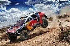 Dakar Rallye - Peterhansel gewinnt Königsetappe, Drama um Sainz