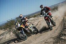 Motorräder: Kurzer Dakar-Auftakt endet mit Überraschung