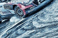 WRC - Video: Best of Slow-Motion bei der Rallye Monte Carlo