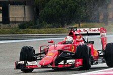 Formel 1 - Vettel fährt am zweiten Test-Tag schnellste Zeit